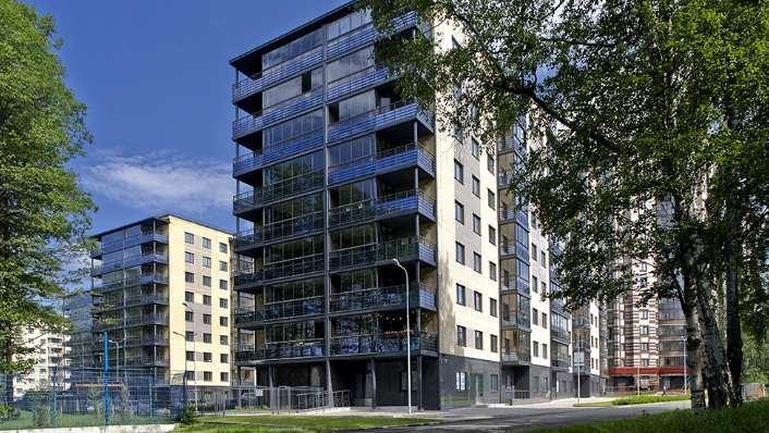 ЗАО «ЭнСиСи Строительство», жилой комплекс Шведская Крона